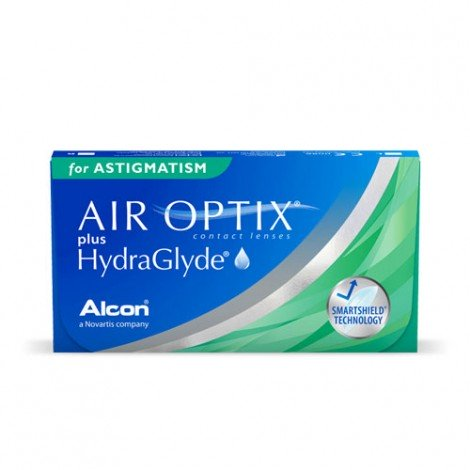 Air Optix® Plus Hydraglyde® for Astigmatism -  6 Lenti a Contatto
