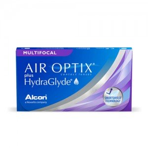 Air Optix® Plus HydraGlyde® Multifocal - 3 Lenti a Contatto