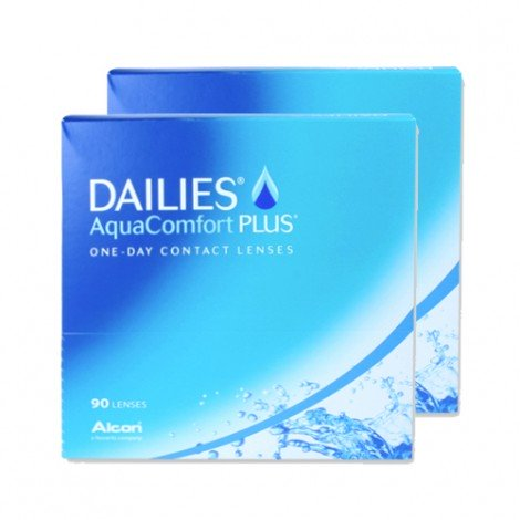 Dailies AquaComfort Plus - 180 Lenti a Contatto