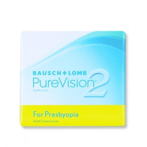 PureVision2 per Presbiopia 6 Lenti a Contatto