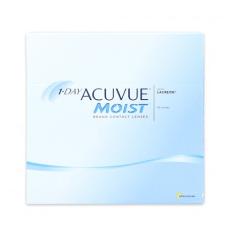 1-Day Acuvue Moist - 90 Lenti a Contatto