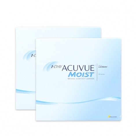 1-Day Acuvue Moist - 180 Lenti a Contatto
